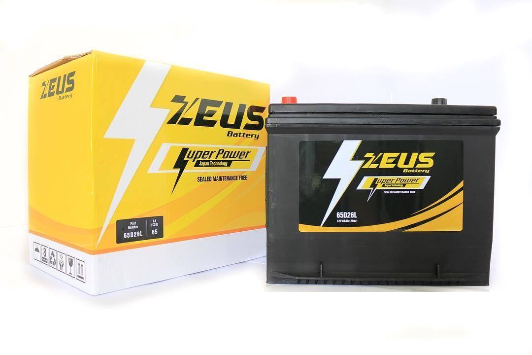 Aki Mobil Zeus NS70L